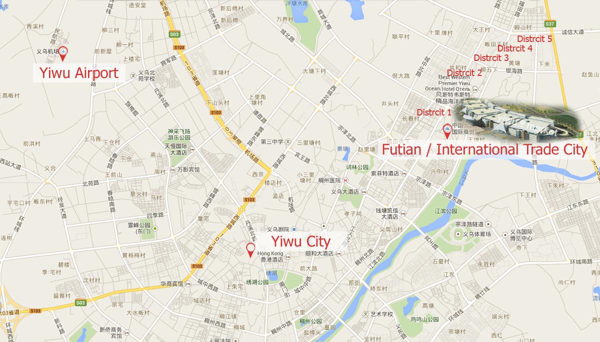 yiwu-map